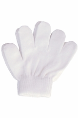 A&R Sports Toddler White Gloves