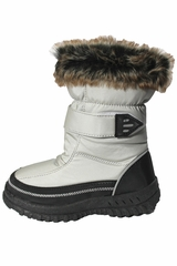 "Aus Sport Grey ""Furry"" Boot"