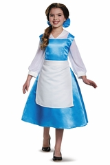 Beauty & The Beast Tween Belle Blue Dress