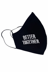 Better Together Adult 2-Ply Face Shaped Mask