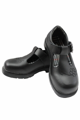 Black Mary-Jane Girls Dress Shoes