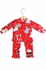 "Books To Bed 12 Days Of Christmas 18""� Doll Matching Pajamas"