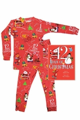Books To Bed 12 Days of Christmas Boys Pajama Set