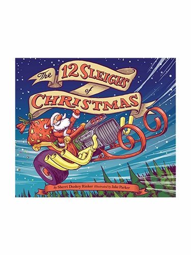 Books To Bed 12 Sleighs Of Christmas Book