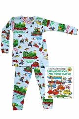 Books To Bed Cars & Trucks & Things That Run Pajama Set