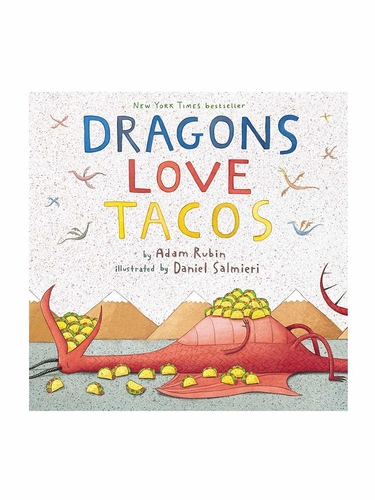 Books To Bed Dragon Loves Tacos Book