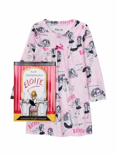 Books to Bed Eloise Nightgown Pajama Set