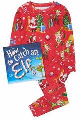 Books to Bed How to Catch An Elf Pajama Set