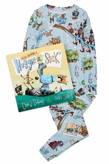 Books to Bed Huggie & Stick Pajama Set
