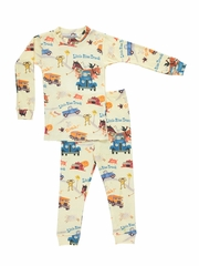 Books To Bed Little Blue Truck Pajama Set