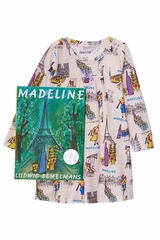 Books to Bed Madeline Nightgown Pajama Set