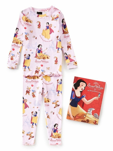 Books To Bed Snow White Pajama Set
