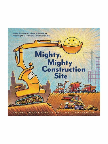 Mighty Mighty Construction Site Book