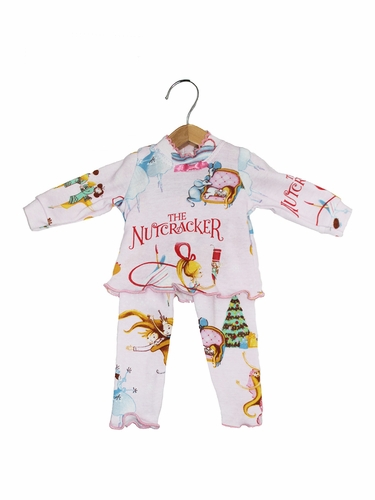 Books To Bed Nutcracker 18'' Doll Matching Pajamas