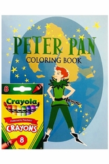 Books To Bed Peter Pan Coloring Book