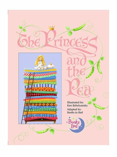Books To Bed Princess & The Pea Book