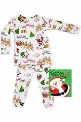 Books To Bed T' Was The Night Before Christmas Pajama Set