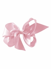 "Bows Arts Blush Pink 5""� Sweetheart Satin Clip"
