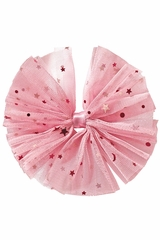 Bows Arts Light Pink Galaxy Tulle Bow
