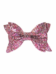 Bows Arts Multicolor Glitter Bow