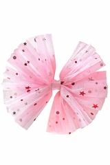 Bows Arts Pink Galaxy Tulle Bow