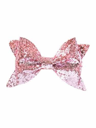 Bows Arts Pink Glitter Bow