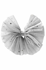 Bows Arts Silver Galaxy Tulle Bow