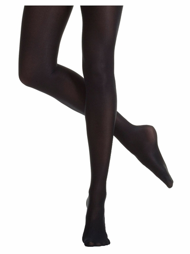 Danskin 1331 Women's Black Ultrashimmery Tights