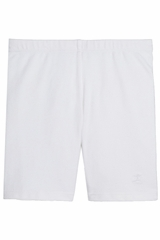 Danskin 1990 Girl's White Bike Short