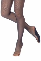 Danskin 203 Women's Black Professional Tight w/ Knit-in Foot Pad