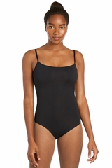 Danskin 2066 Black Nylon Essential Camisole Leotard