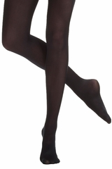 Danskin 212 Women's Black Compression Footed Tight