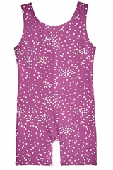 Danskin 3736 Girl's Heart Drops Gymnastics Biketard