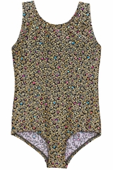Danskin 3810 Girl's Multi Hearts Gymnastics Leotard