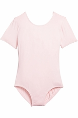 Danskin 3905 Girls Petal Pink Team Essentials Short Sleeve