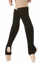 "Danskin 4076 Women's Black 24"" Leg Warmers"