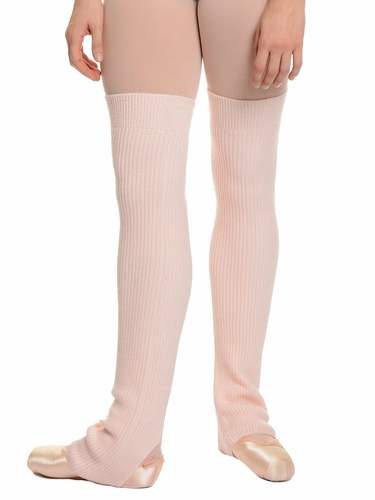 Danskin 4076 Women's Theatrical Pink 24'' Leg Warmers