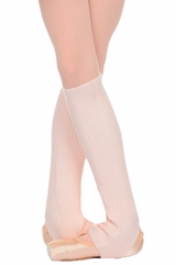 "Danskin 4079 Girl's Theatrical Pink 16"" Knit Legwarmers"