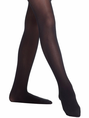 Danskin 607 Black Footed Compression Tight
