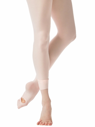 Danskin 702 Women's Ballet Pink Ultrasoft Microfiber Convertible Tight