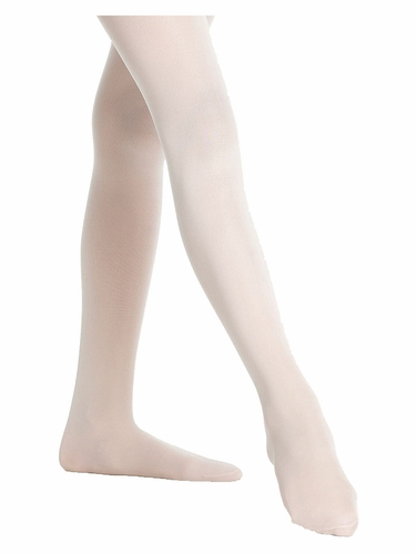 Danskin Girls Theatrical Pink Footed Student Tights