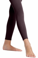 Danskin Girl's 712 Black Microfiber Footless Tight