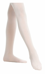 Danskin 387 Girls Theatrical Pink Ultrasoft Microfiber Footed Tights
