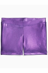 Danskin Purple Gymnastics Basics Short