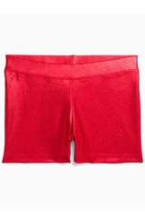 Danskin Red Gymnastics Basics Short