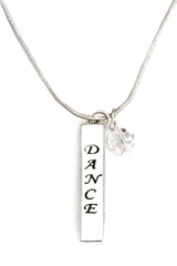 Dasha Designs 2777 Four Sided Dance Bar Necklace