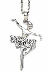 Dasha Designs 2779 Teardrop Ballerina Necklace