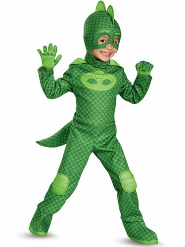 Disguise 17166 PJ Masks Gekko Deluxe Toddler
