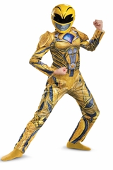 Disguise 19139 Yellow Ranger Movie Deluxe