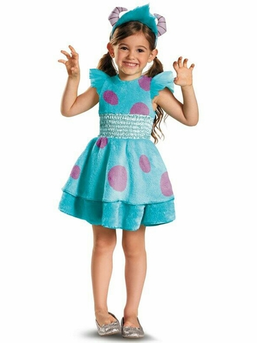 Disguise 58777 Sulley Girl Deluxe Child Costume